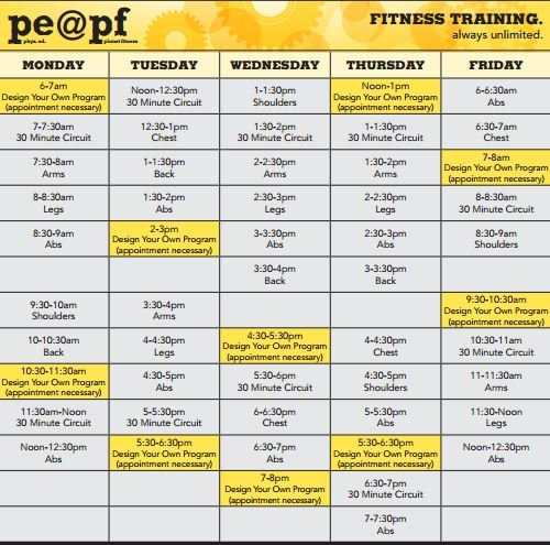 List Of Exercise Machines At Planet Fitness Viewyoga
