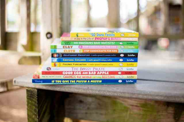 daily mom parents portal schiffer publishing giftset 26 books for preschoolers