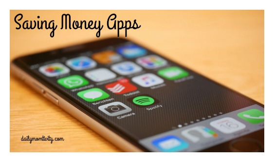saving money apps #dailymomtivity