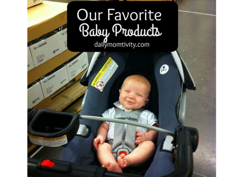 Our favorite baby essentials