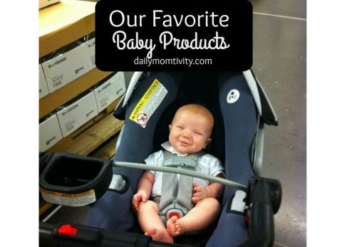 Our favorite baby essentials