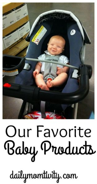 A list of our favorite baby products. We've got your covered for all your baby must have items!