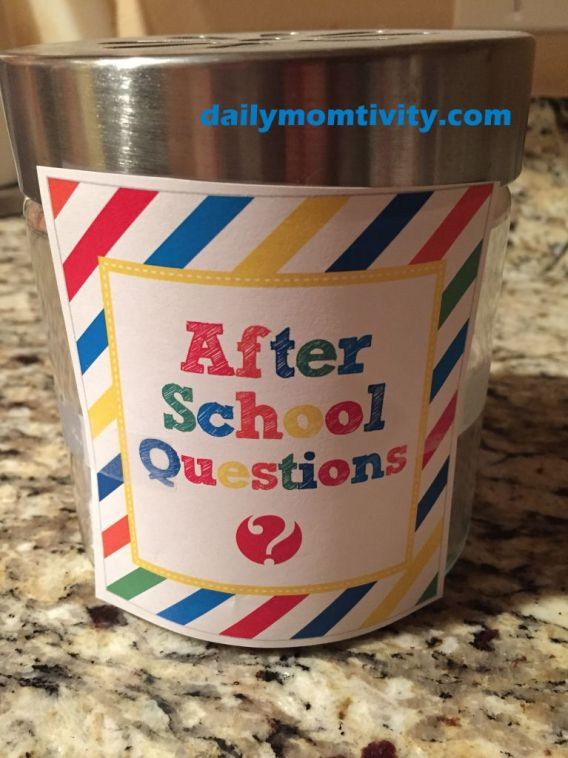 dailymomtivity, after school ?'s from how does she