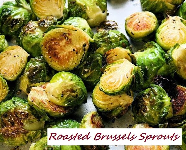 Roasted Brussels Sprouts – I promise they're so good!