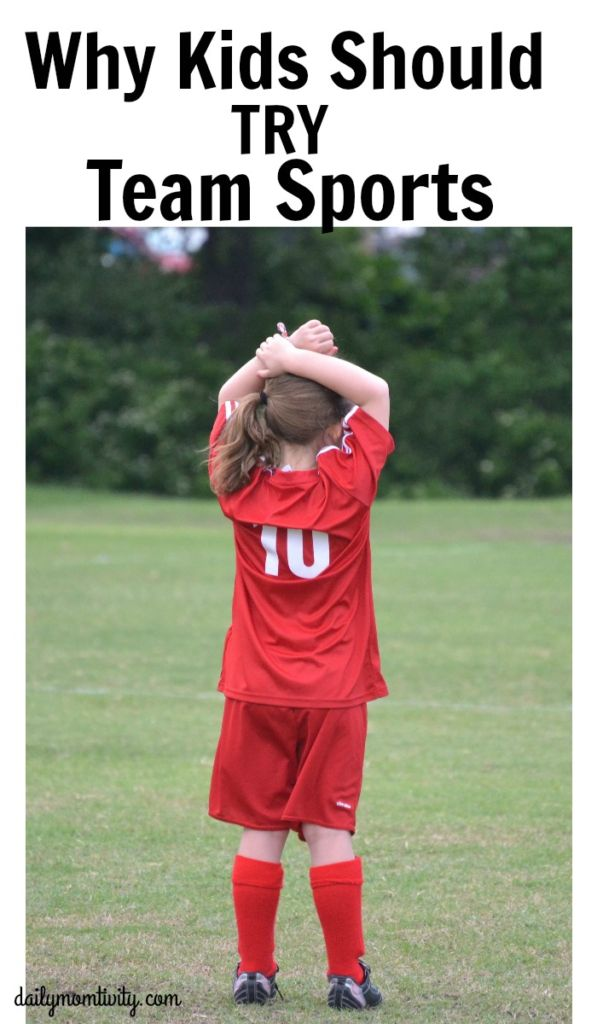 Why kids should try a team sport