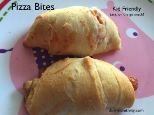 pizza bites #dailymomtivity