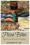 Pizza Bites {Kid Friendly Snack or Meal}