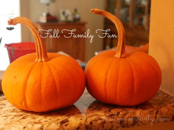 fall family fun #dailymomtivity