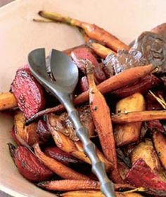 harvest root veggies
