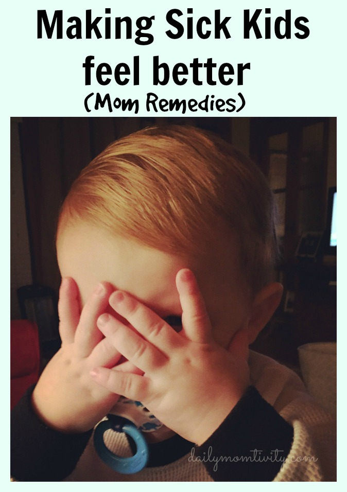 Advice and tips from Moms on how to handle sick kids