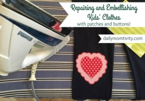 Repairing and Embellishing Kids' Clothes