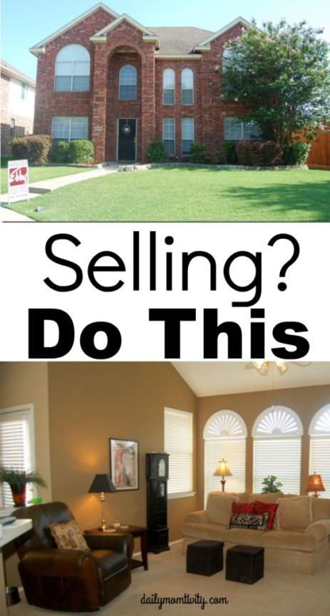 Selling Your House? Don't stress, do these simple tricks to get your house sold ASAP http://dailymomtivity.com