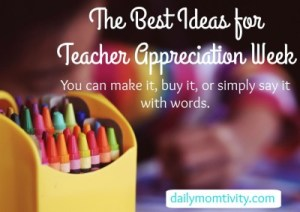 The Best Ideas for Teacher Appreciation Week