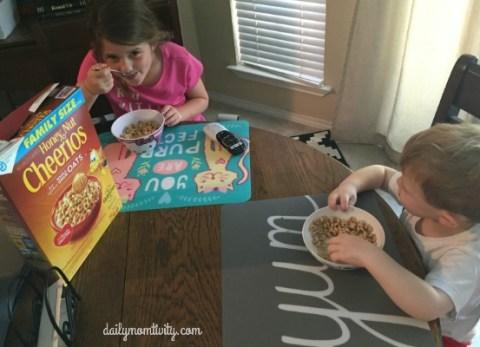 Honey Nut Cherrios cereal