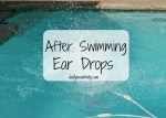 DIY After Swimming Ear Drops