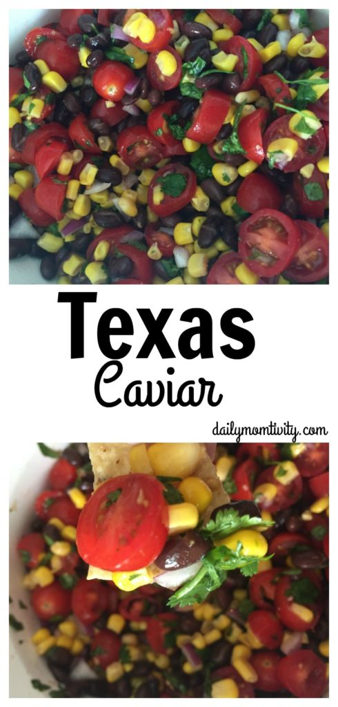 Make this for your next get together. So many wonderful flavors. Perfect as a dip or as a side to your summer burgers! https://dailymomtivity.com