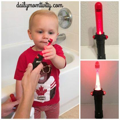 light saber toothbrush