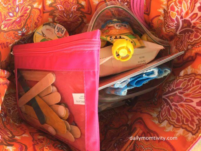toddler ready bag