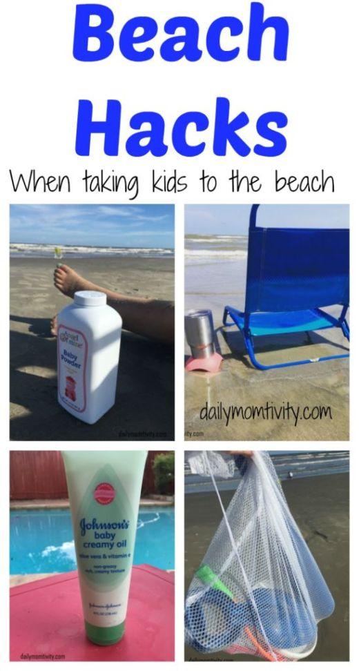 Beach Hacks for Kids