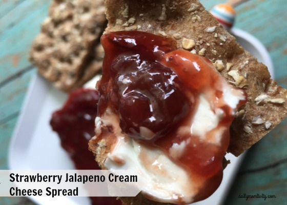 Strawberry Jalapeno Cream Cheese Spread