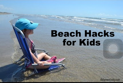 beach hacks for kids