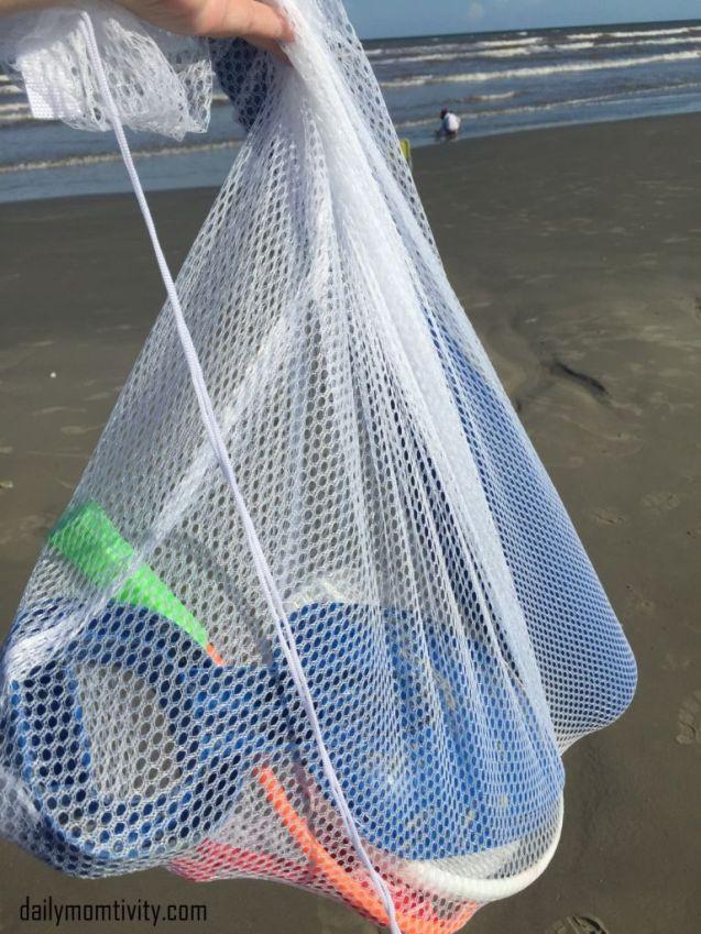 beach laundry hack