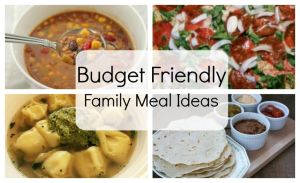 Budget Friendly Family Meals