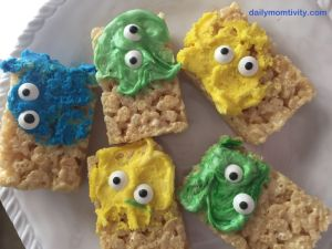 Monster Krispy Treats
