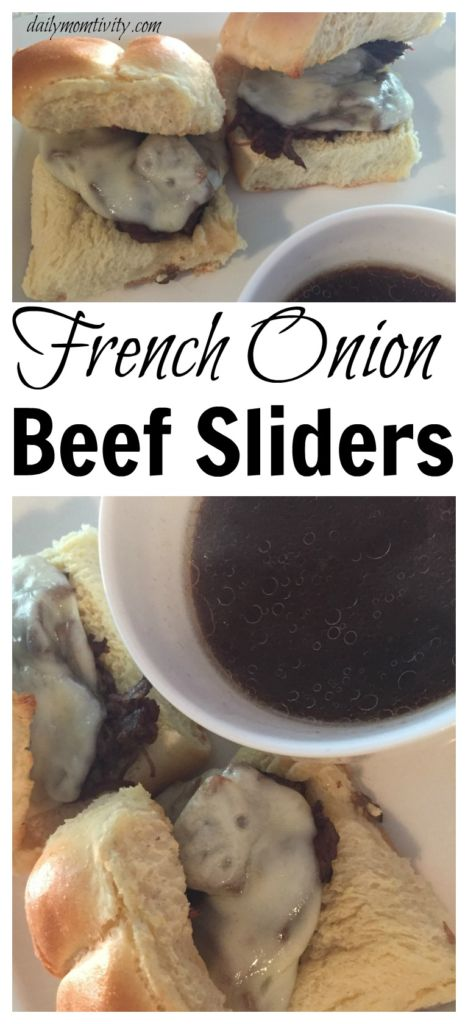 Juicy and Delicious French Onion Beef Sliders