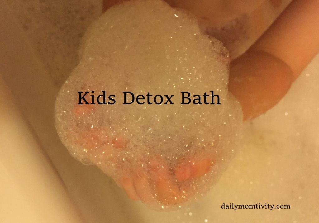 Kids Detox Bath