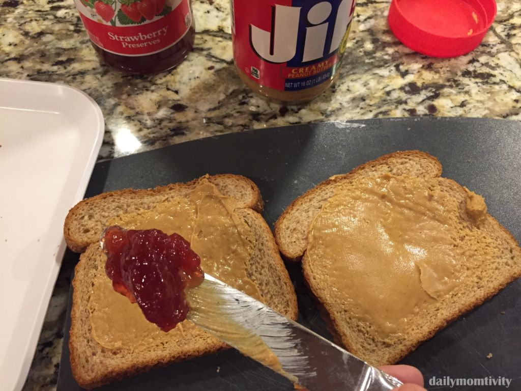 peanut butter and jelly kabob sandwiches