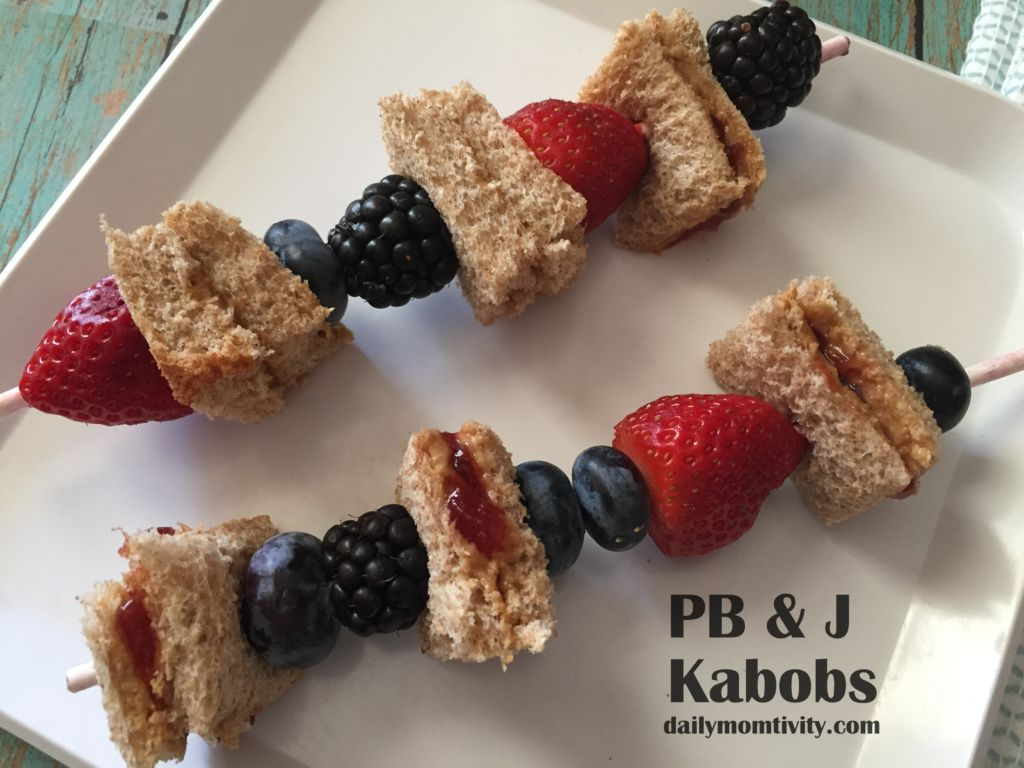 peanut butter and jelly kabobs