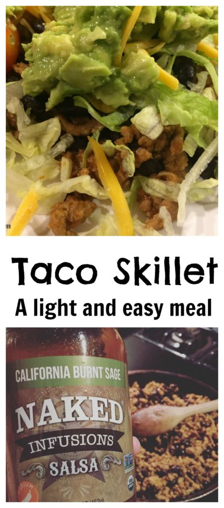Taco Skillet Easy Meal Idea