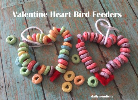 Heart Bird Feeders