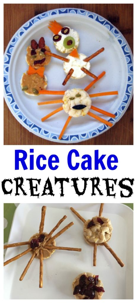 Your kids will love creating fun creatures using rice cakes and other snack supplies. Create and learn at the same time with this educational activity!