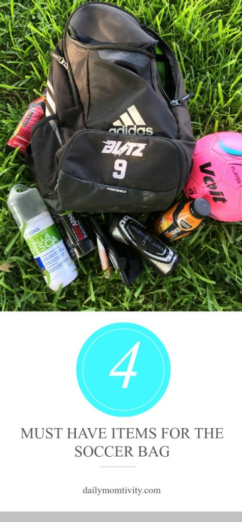 4 Must Have Items for the Soccer Bag #Switch2BODYARMOR #BringIt #ad