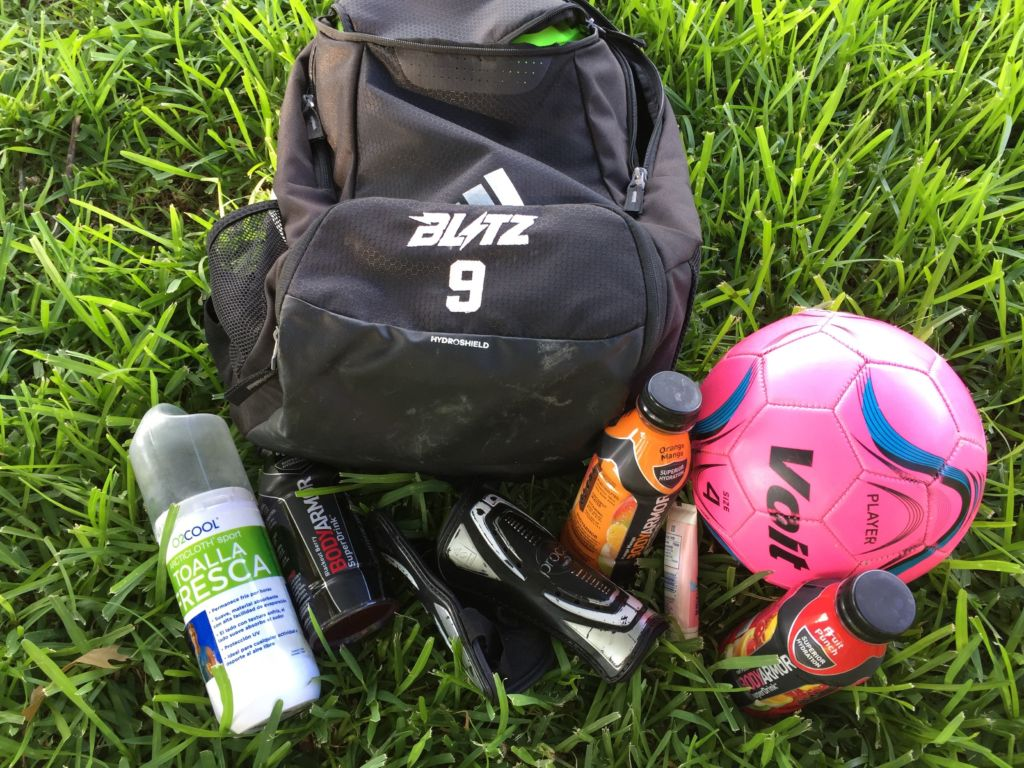 4 Items to Keep in a Soccer Bag