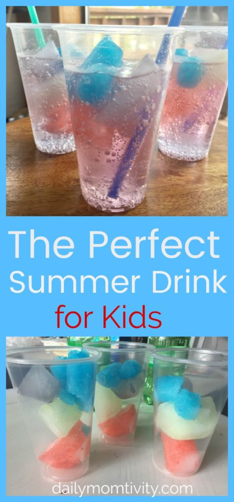 The perfect summer drink for your kids! Make this to keep the kids refreshed and having fun this summer time.