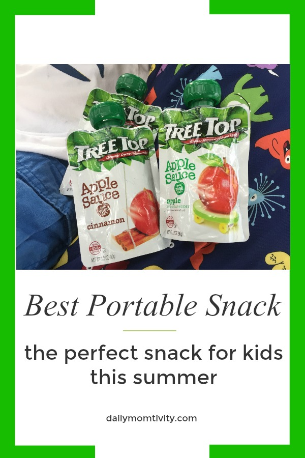 The best portable snack for kids this summer! #spon #NoMessInTexas @TreeTopInc