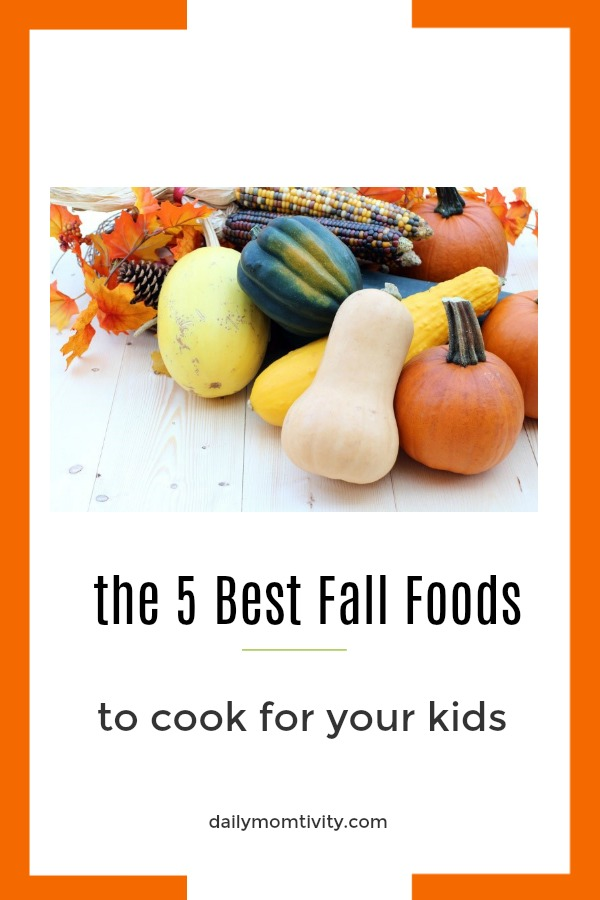 Check these 5 best Fall foods to cook for your kids