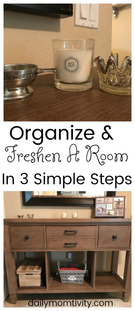 How to Clean up and Freshen a Room in 3 simple Steps #GladeAtmosphere #ad