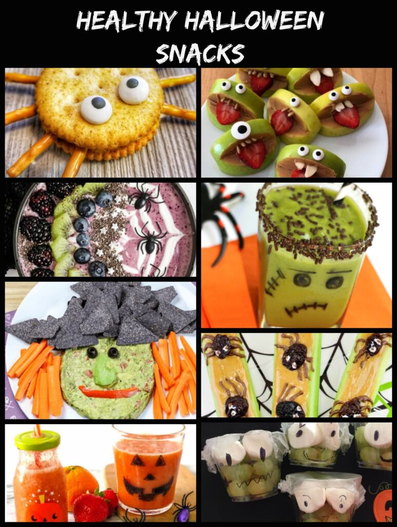 Healthy Halloween Snacks for Kids , skip the sugar and enjoy some fun healthier options this Halloween