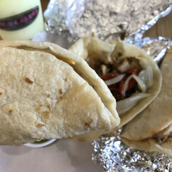 New Flame Grilled Chicken Tacos from Taco Cabana