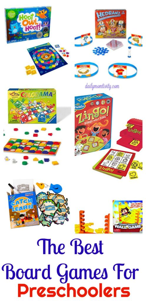 The Best Board Games for Preschool