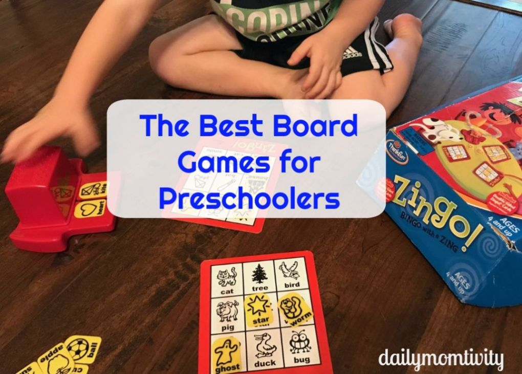 Best Board Games Preschool