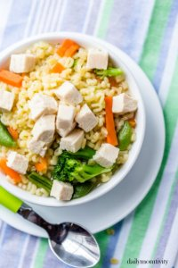Quick and Nutritious Kid-friendly Chicken Noodle Soup
