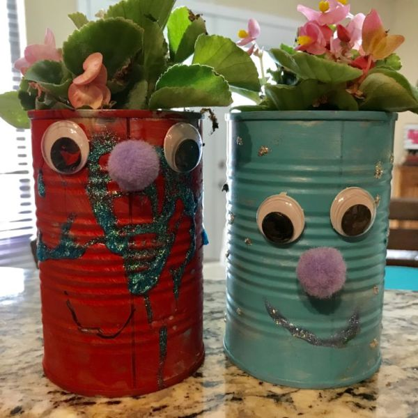 Earth Day Recycled Art Craft