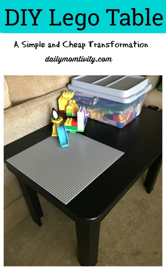 DIY Lego Table