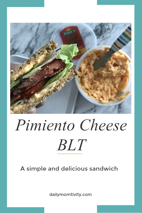 Pimiento Cheese BLT Sandwich, a delicious sandwich that is simple to make! Perfect for a picnic or for after a swim