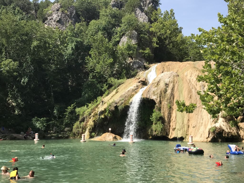 fun things to with kids in Texas, Turner Falls